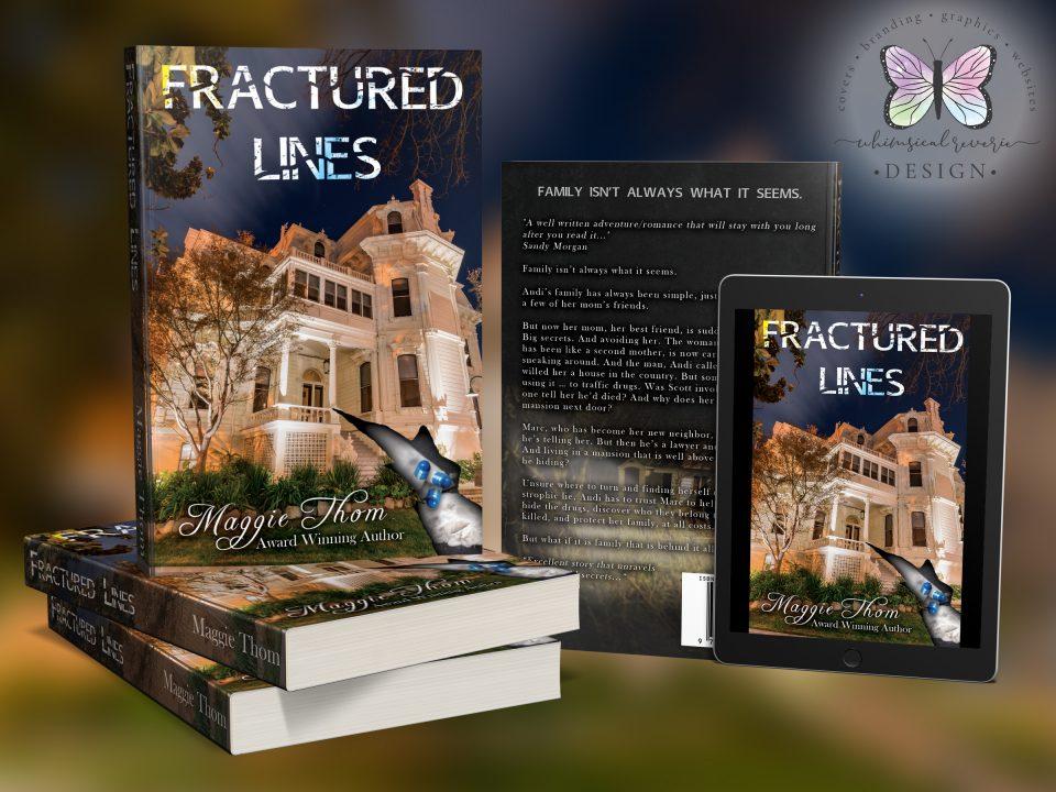 Fractured Lines Custom Cover Design