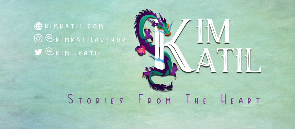 Kim Katil Facebook cover image author branding