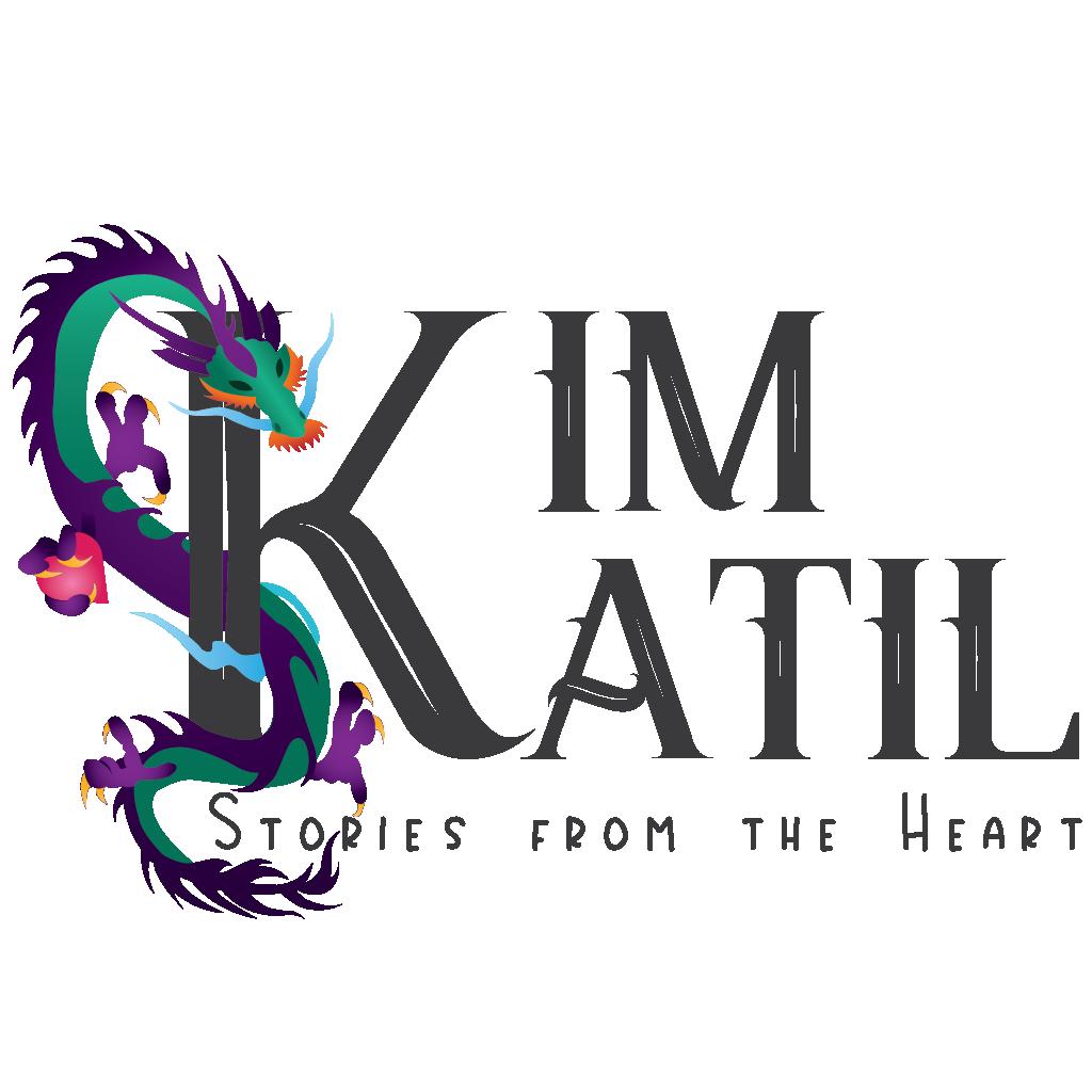 Kim Katil Logo author branding