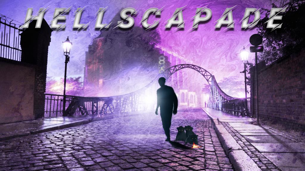 Kim Katil's Hellscapade Website Banner author branding