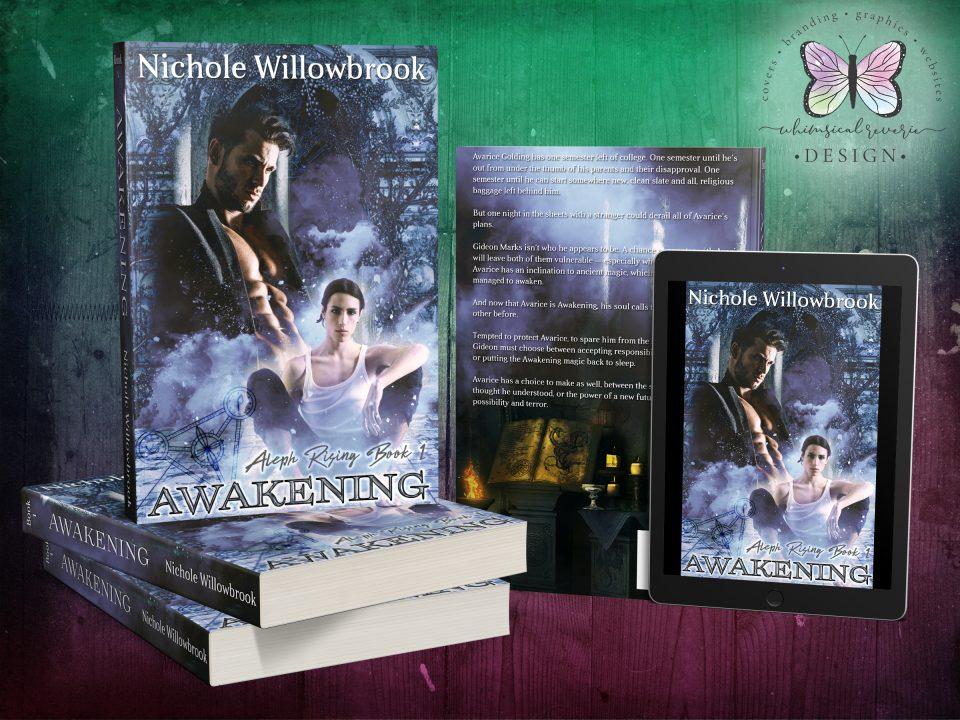 Awakening Custom Cover Design