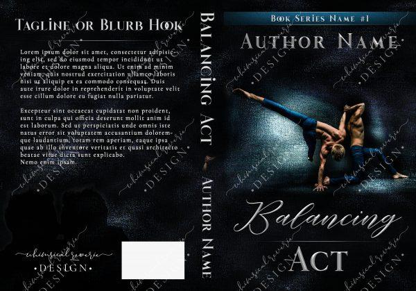 Balancing Act Book Cover Design