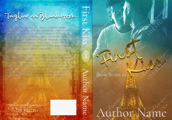 First Kiss Paperback Cover Design
