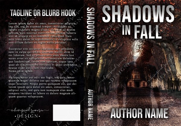 Shadows in Fall Paperback Cover Design